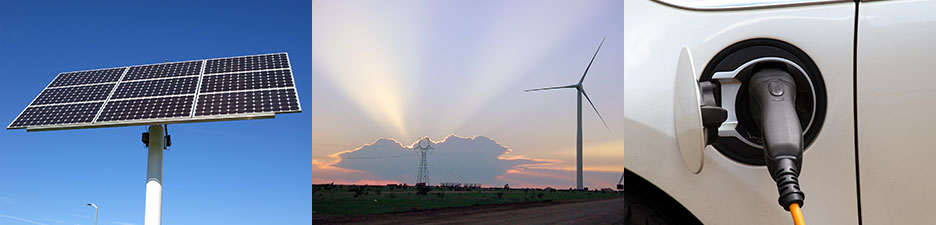 banner of alternative energy resources