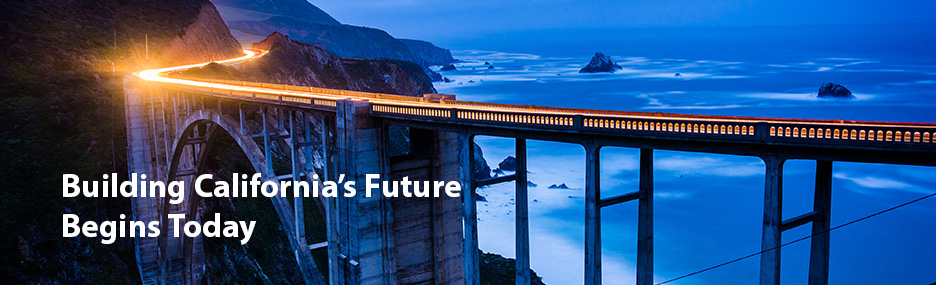 Building California's Future Begins Today