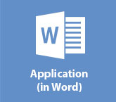 Application (in Word)