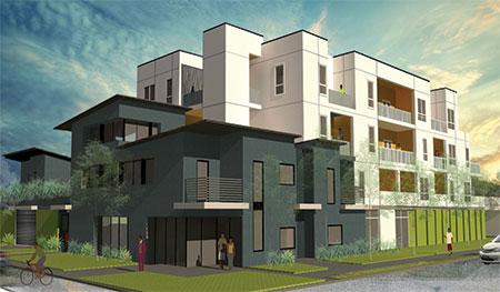 Affordable Housing Render