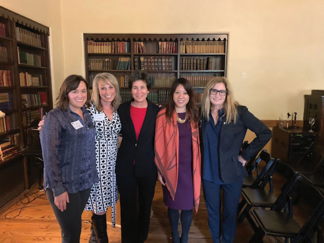 Treasurer Ma meeting with representatives of WISR – a networking and professional development organization for women in the solid waste and recycling industry.
