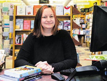 Christin Evans, co-owner of The Booksmith in San Francisco is a participating employer in CalSavers.
